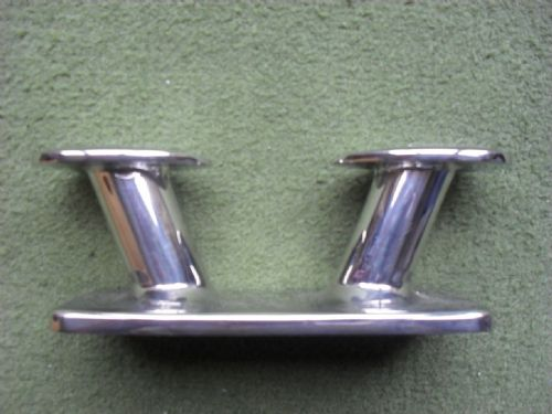 Stainless Horn Bollard Cleat 195mm Overall